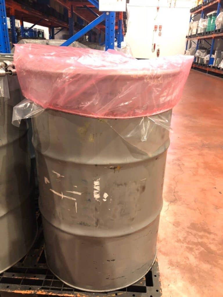 ตัวอย่างการใช้ถุงพลาสติกเพื่อป้องกันการติดไฟ