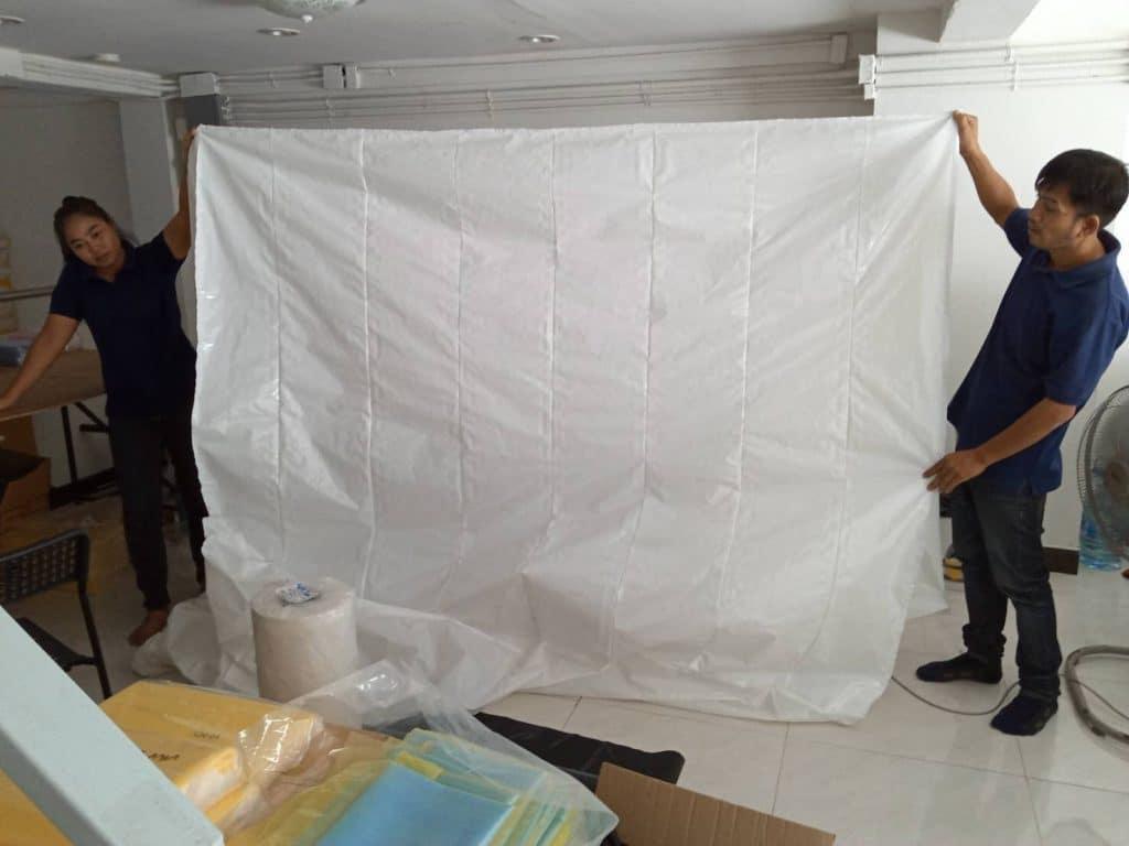 ภาพประกอบตัวอย่างของถุงพลาสติก