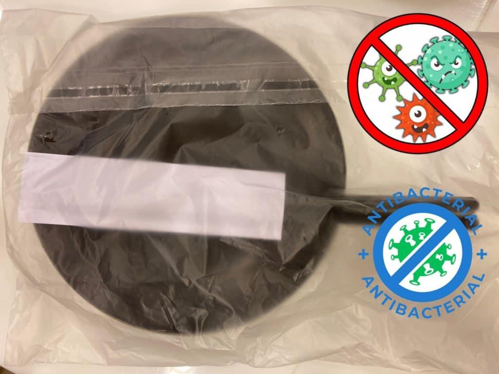 ถุงพลาสติกป้องกันเชื้อโรค ไวรัส เชื้อรา แบคทีเรีย สำหรับชุด จาน ชาม ช้อน ส้อม